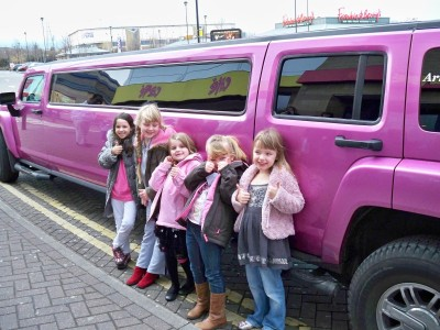 childrens party limo